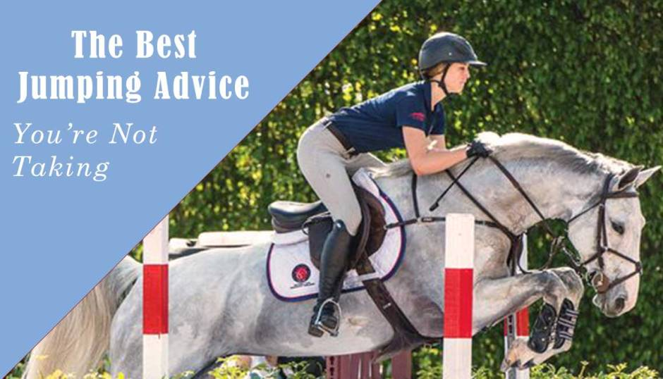 The jumping advice you're not taking